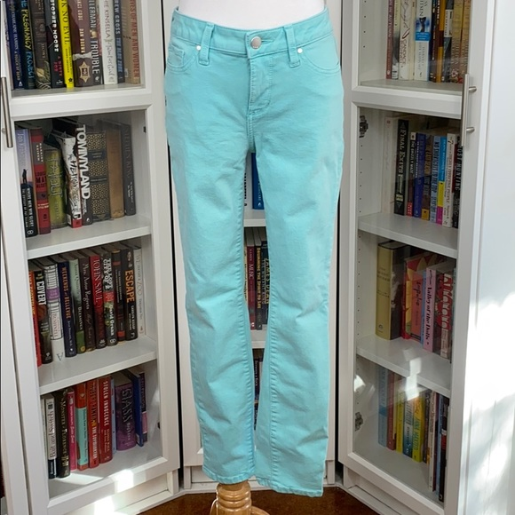 a.n.a Denim - a.n.a A New Approach Sky Blue Skinny Ankle Jeans